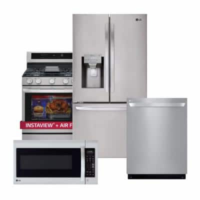27.9 cu. ft. French Door Smart Refrigerator with Glide N' Serve Wi-Fi Enabled in PrintProof Stainless Steel