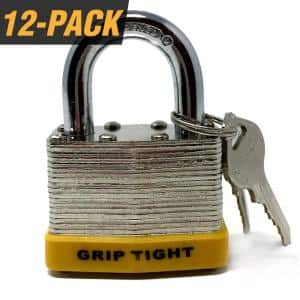 Number of locks in pack: 12