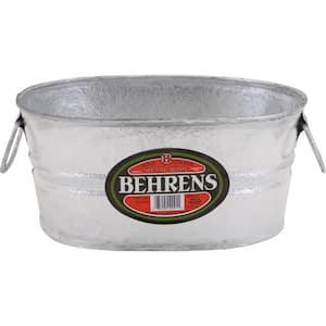 Oval in Galvanized Buckets