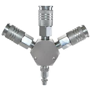 Steel in Air Tool Fittings