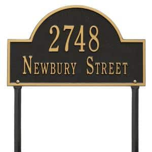 Letters/Numbers in Address Plaques