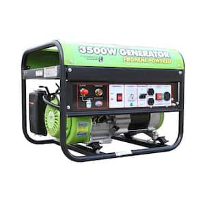 Horsepower (hp): 6.5 hp in Portable Generators