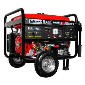 Running Wattage: 4000 - 5000 in Generators