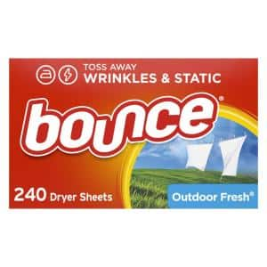 HE Compatible in Dryer Sheets