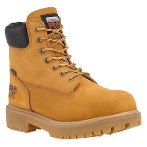 Steel Toe in Work Boots