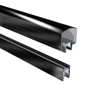 Black in Deck Railing Systems