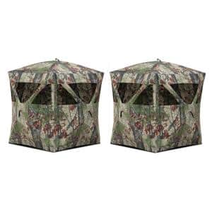 Ground Blind in Hunting Blinds