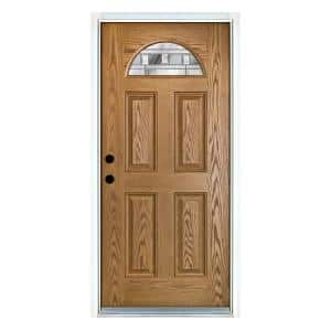 Common Door Size (WxH) in.: 32 x 80 in Fiberglass Doors