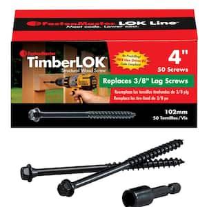 Screw Length: 4 in in Wood Screws