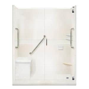 Approximate Length x Width: 60 x 36 in Shower Stalls & Kits