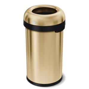 Gold metallic in Trash Cans