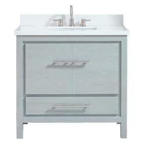 Gray in Bathroom Vanities