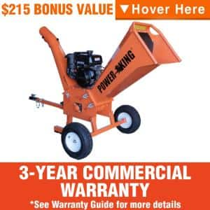 Commercial: Yes in Gas Wood Chippers