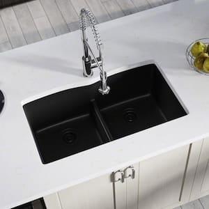 Double Bowl in Undermount Kitchen Sinks