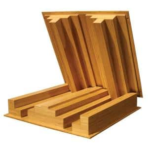 Bamboo in Sound Diffusers