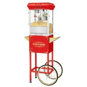 Oil in Popcorn Machines