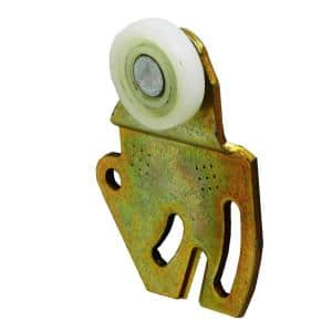 Brass in Sliding Closet Door Hardware
