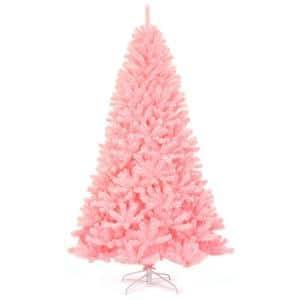 Pink in Artificial Christmas Trees