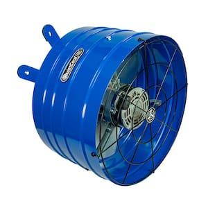 QuietCool in Gable Mount Attic Fan