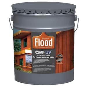 Waterproof in Exterior Wood Stains