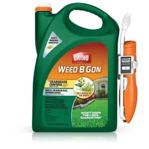 Lawn in Weed Killer