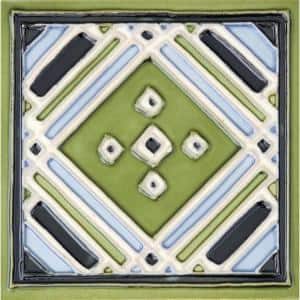 Approximate Tile Size: 6x6 in Ceramic Tile