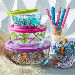 Glass in Food Storage Containers