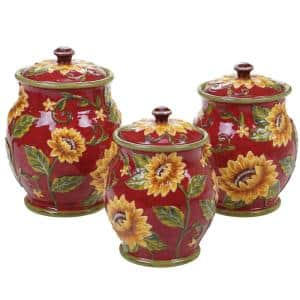 Ceramic in Kitchen Canisters