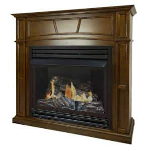 Natural Gas in Ventless Gas Fireplaces