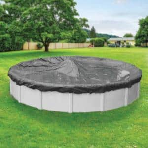 Pool Size: Round-24 ft. in Pool Covers