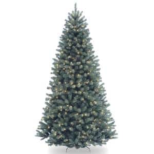 Blue in Artificial Christmas Trees