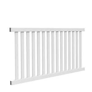 Nominal panel height (ft.): 4 in Vinyl Fence Panels