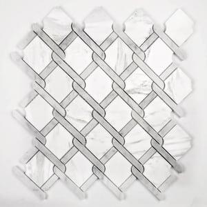 White in Mosaic Tile