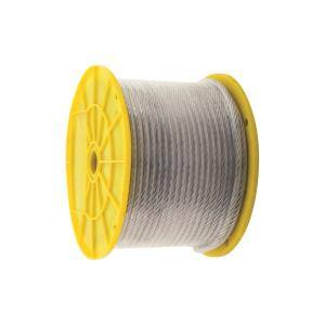 Rope Diameter (in.): 3/16 in Wire Rope