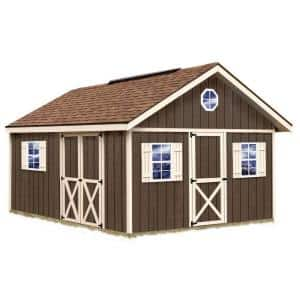 Shed Size: Large ( >101 sq. ft.) in Wood Sheds