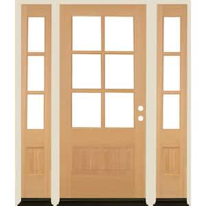 Single door with Sidelites in Wood Doors