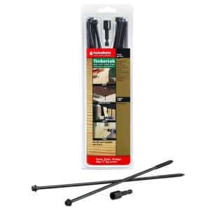 Screw Length: 10 in in Wood Screws