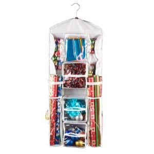 Plastic in Wrapping Paper Storage