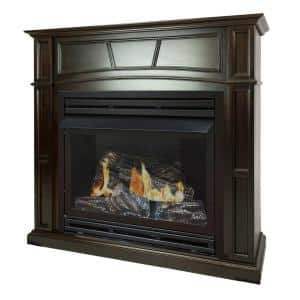 Mantel in Ventless Gas Fireplaces