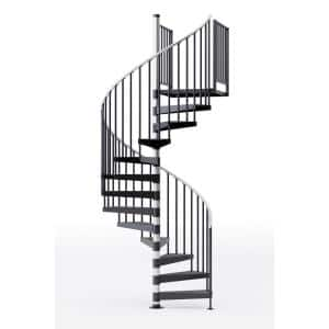Interior in Spiral Staircase Kits