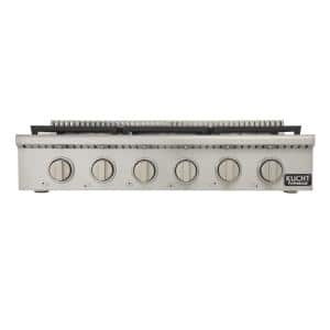Cooktop Size: 36 in.
