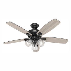 Fan Blade Span (in.): 52 in. in Ceiling Fans With Lights