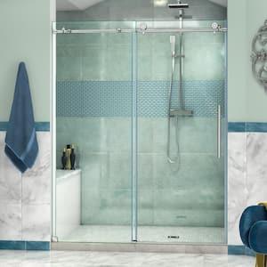 Frameless in Alcove Shower Doors