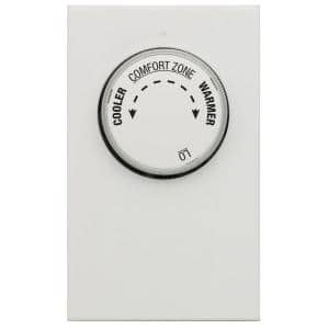 Wire Configuration: 2-Wire in Non-Programmable Thermostats
