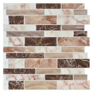Mosaic in Peel and Stick Backsplash