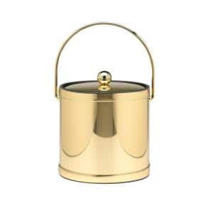 Gold ice buckets