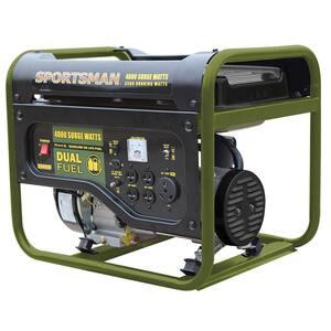 Propane in Portable Generators