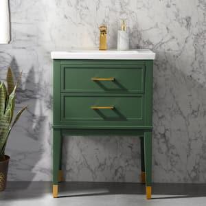Popular Vanity Widths: 24 Inch Vanities in Bathroom Vanities with Tops