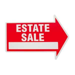 Estate Sale Sign in Real Estate Signs