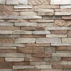 Stacked Stone in Manufactured Stone Siding